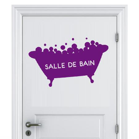 Stickers panneau salle de bain stickers malin for Panneau salle de bain