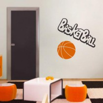 Stickers Ballon de basket