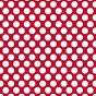 Magnet Pois Blanc/rouge