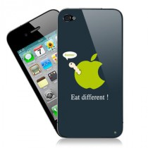 Stickers iPhone Apple Parodie
