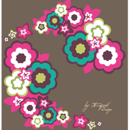 Stickers Interrupteur Flowers