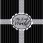 Stickers Interrupteur World Black