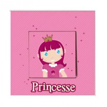 Stickers Interrupteur Princesse Lilou