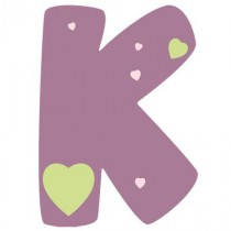 Stickers Lettre K1 - Alphabet Sticker Tonic