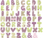 Stickers Lettre K2 - Alphabet Sticker Tonic