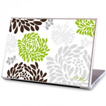 Stickers PC Flowers Green