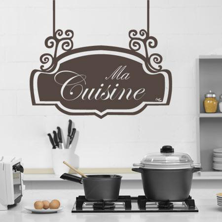 Stickers panneau cuisine stickers malin - Panneau cuisine ...