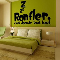 Stickers Citation Ronfler
