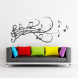 Stickers portee musicale arabesques