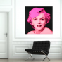 Stickers Pop Art Marilyn fond noir