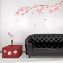 Stickers branches fleuries - cherry blossom