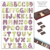 Stickers gommettes - Alphabet Tonic
