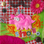 Toile The pig show