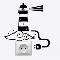 Stickers prise phare