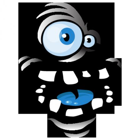 Stickers monstre rigolo stickers malin - Images de monstres rigolos ...