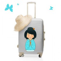 Stickers Valise Kokeshi Lagoon