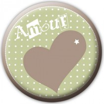 Badge Amour