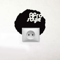 Stickers prise Afro
