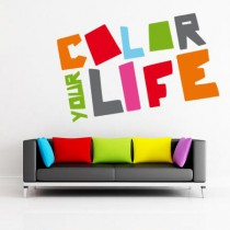 Stickers Color Your Life
