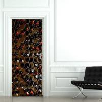 Stickers porte vins stickers malin - Stickers frigo 2 portes ...