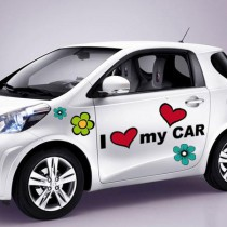 Stickers voiture Pop