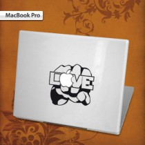 Stickers Mac Fist Love