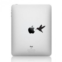 Stickers iPad colibri