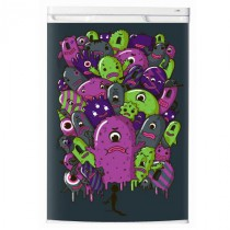 Stickers frigo monster