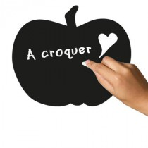 Stickers Ardoise Pomme-Coeur