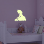 Stickers Luminescents La princesse au crapaud