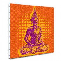 Tableau toile Indian Pop Bouddha