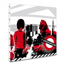 Tableau toile London Graphic 03