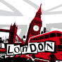 Stickers interrupteur london graphic 2