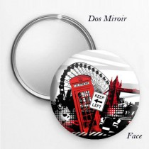 Miroir de poche London graphic 1