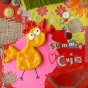 Badge Summer chick