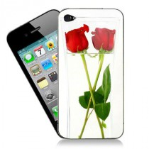 stickers iPhone les roses dans le bocal