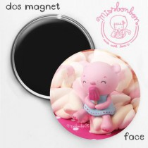 Magnet ourson rose