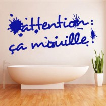 Stickers Ca mouille