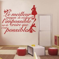 Stickers l'impossible devient possible