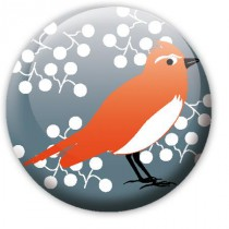 Badge Oiseau 2