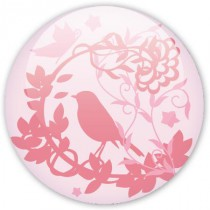Badge Oiseau du printemps