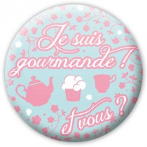 Badge Cupcake Gourmand