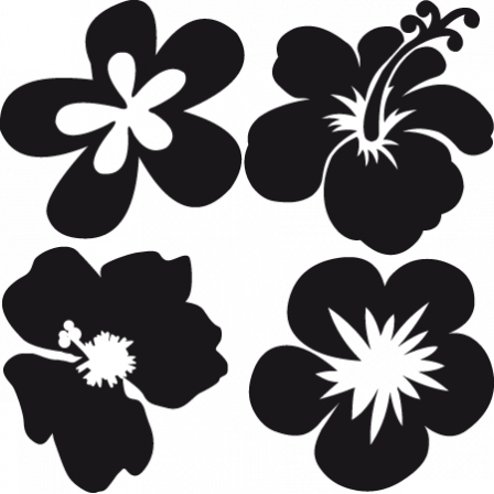 Stickers Flower Power Pack