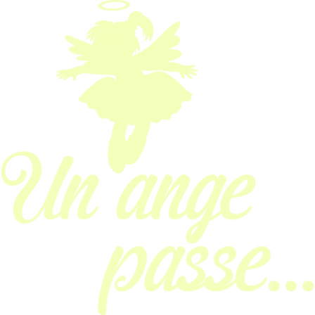 Stickers Luminescents Un ange passe