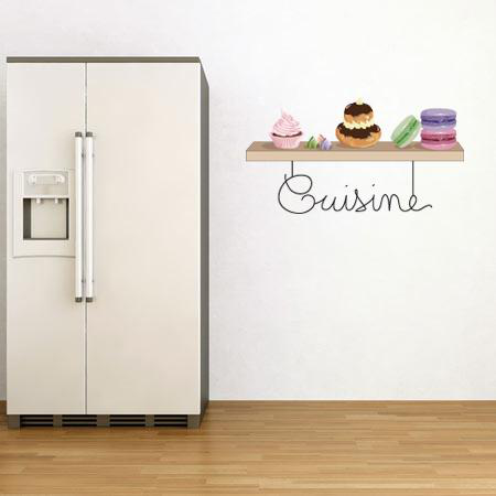 Stickers cuisine stickers malin - Pose stickers muraux ...