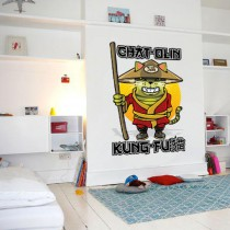 Stickers Chat olin kung fu