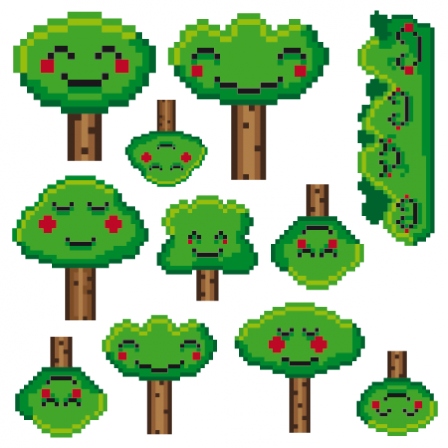 Stickers Forêt