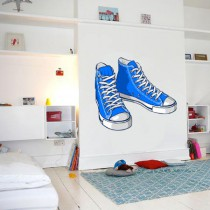 Stickers Blue sneakers