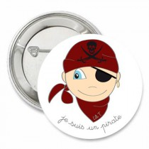 Badge collection Je suis... un pirate