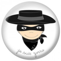 Badge collection Je suis... zorro